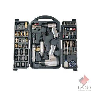 Набор пневмоинструмента слесарный 71 предмет Rotake RT-009K