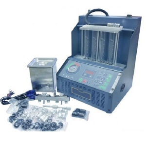 Установка для тестирования и очистки инжектора со снятием форсунок И-6Б