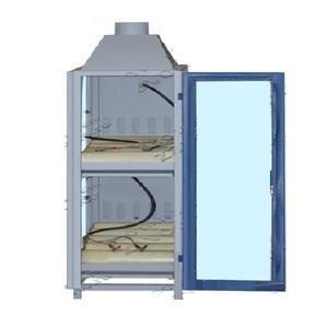 Шкаф аккумуляторный  с оргстеклом 2-х полочный ШМА-06